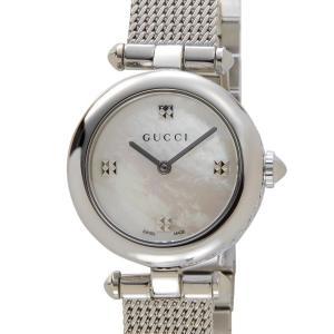 グッチ GUCCI 時計 YA141504 Diamantissima ディアマンティッシマ スモール ホワイトシェル レディース 腕時計【送料無料】|s-select