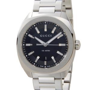 グッチ GUCCI 時計 YA142301 GG2570 ブラック メンズ 腕時計 新品【送料無料】|s-select