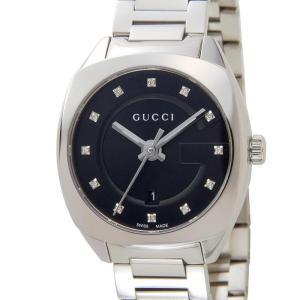 グッチ GUCCI 時計 YA142503 GG2570 ダイヤインデックス ブラック レディース 腕時計【送料無料】|s-select