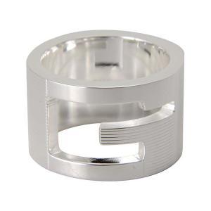 GUCCI 9グッチ GUCCI シルバ−リング 032666098408106 指輪 ブランド|s-select