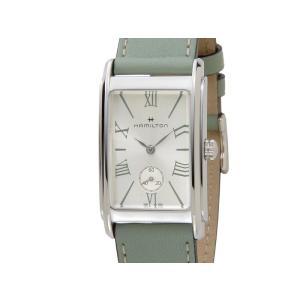 ハミルトン HAMILTON レディース 腕時計 H11421014 American Classic アメリカンクラシック Ardmore アードモア グリーン【送料無料】|s-select