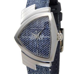ハミルトン HAMILTON ベンチュラ H24211941 Ventura デニム レディース 腕時計 新品|s-select