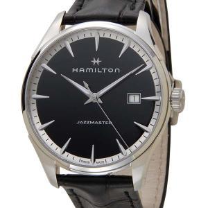 ハミルトン HAMILTON メンズ 腕時計 JAZZ MASTER ジャズマスター ジェント ブラック 革ベルト H32451731|s-select