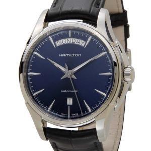 ハミルトン HAMILTON メンズ 腕時計 JAZZ MASTER ジャズマスター デイデイト ネイビー 革ベルト H32505741|s-select