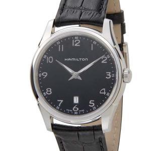 HAMILTON ハミルトン メンズ 腕時計 H38511733 JAZZ MASTER ジャズマスター シンライン ブラック 新品 【送料無料】|s-select