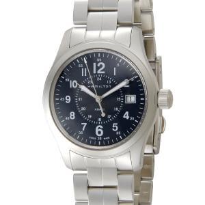 ハミルトン カーキ フィールド HAMILTON H68201143 ブルー メンズ 腕時計【送料無料】|s-select