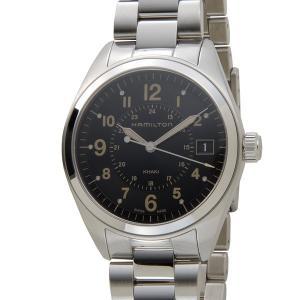 ハミルトン HAMILTON カーキ フィールド H68551133 ブラック メンズ 腕時計【送料無料】|s-select