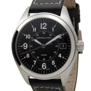 ハミルトン HAMILTON H68551733 カーキ フィールド クォーツ ブラック メンズ 腕時計【送料無料】|s-select