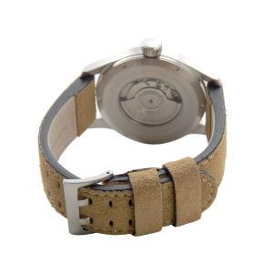 ハミルトン HAMILTON メンズ腕時計 H70655733 カーキ オフィサー オート 文字盤×ベルト:ブラック×ベージュ ブランド|s-select|03