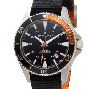 ハミルトン HAMILTON カーキ ネイビー 82305931 KHAKI スキューバ オート 自動巻き メンズ 腕時計|s-select