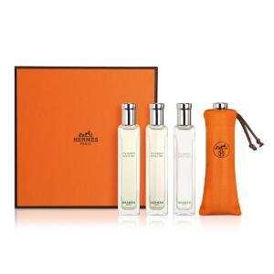 エルメス ナイルの庭/屋根の上の庭 ミニチュア/ミニボトル 4Pセット 各15ml×2pcs HERMES 香水 新品