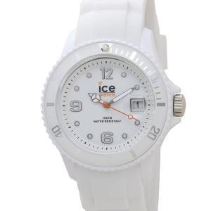 アイスウォッチ ICE WATCH SI.WE.U.S.09 000134 アイス フォーエバー 40mm ホワイト ユニセックス 腕時計|s-select