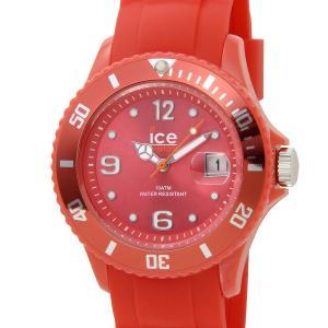 アイスウォッチ ICE WATCH 000139 SI.RD.U.S.09 ICE forever アイス フォーエバー 43mm レッド メンズ/レディース 腕時計 新品|s-select