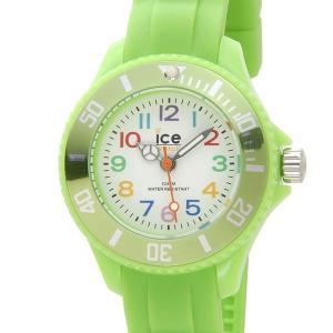 ICE WATCH アイスウォッチ 腕時計 000746 ICE mini MN.GN.M.S.12 アイス ミニ 30mm グリーン ユニセックス (キッズ)|s-select
