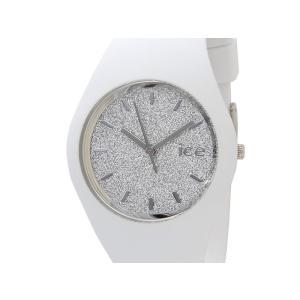アイスウォッチ ICE WATCH 001351 Ice Glitter アイス グリッター 40mm シルバー×ホワイト ユニセックス メンズ レディース 腕時計 新品|s-select
