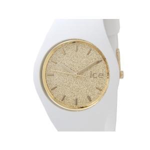 アイスウォッチ ICE WATCH 001352 Ice Glitter アイス グリッター 40mm ゴールド×ホワイト ユニセックス メンズ レディース 腕時計 新品|s-select