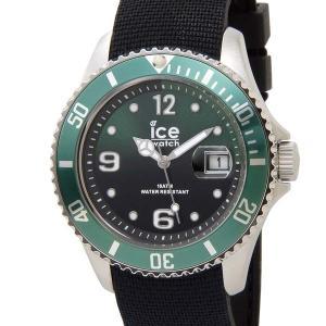 アイスウォッチ ICE WATCH アイス スティール ミディアム 43mm グリーン 緑 015769 メンズ 腕時計|s-select
