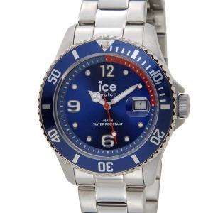 アイスウォッチ ICE WATCH アイス スティール ミディアム 43mm ブルー 青 015769 メンズ 腕時計|s-select