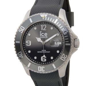 アイスウォッチ ICE WATCH アイス スティール ラージ 48mm グレー 015772 メンズ 腕時計|s-select