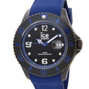 アイスウォッチ ICE WATCH アイス スティール ラージ 48mm ブルー 青 015783 メンズ 腕時計|s-select