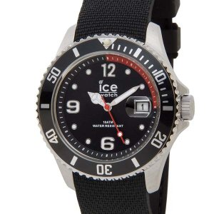 アイスウォッチ ICE WATCH アイス スティール ミディアム 43mm ブラック 黒 016030 メンズ 腕時計|s-select
