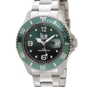 アイスウォッチ ICE WATCH アイス スティール ミディアム 43mm グリーン 緑 016544 メンズ 腕時計|s-select
