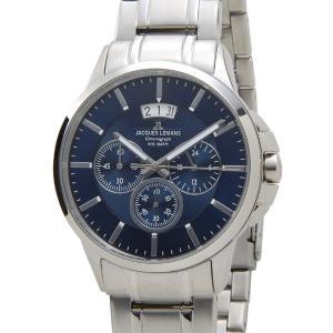 ジャックルマン 1-1542I シドニー クロノグラフ デイト JACQUES LEMANS メンズ 腕時計 ブルー【送料無料】|s-select