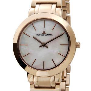 ジャックルマン JACQUES LEMANS 腕時計 1-1824E MILANO 32mm 5ATM ミラノ ピンクゴールド レディース DEAL|s-select