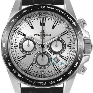 ジャックルマン JACQUES LEMANS メンズ 腕時計 1-1836A ケビンコスナー・アンバサダー・モデル クロノグラフ 革ベルト|s-select