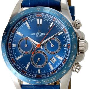 ジャックルマン 腕時計 ケビンコスナー アンバサダー モデル JACQUES LEMANS 1-1836B ブランド|s-select