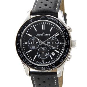 ジャックルマン JACQUES LEMANS メンズ 腕時計 11-1586-11 ケビンコスナー・コレクション クォーツ クロノグラフ デイト|s-select