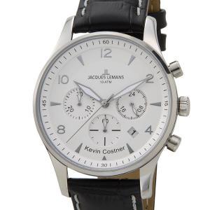 ジャックルマン JACQUES LEMANS 日本限定モデル メンズ 腕時計 11-1654B-1 ケビンコスナー・コレクション ロンドン クロノフラフ|s-select