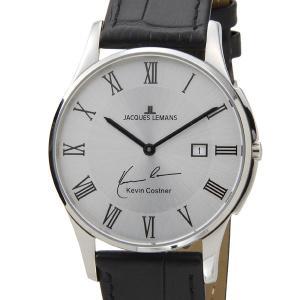 ジャックルマン 日本限定モデル メンズ 腕時計 11-1777D-1 JACQUES LEMANS ケビンコスナー・コレクション ロンドン 革ベルト ブランド|s-select