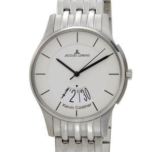 ジャックルマン 日本限定モデル メンズ 腕時計 11-1821B-1 JACQUES LEMANS ケビンコスナー・コレクション ロンドン デイト ブランド|s-select