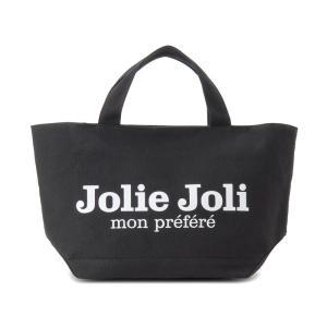 Jolie Joli ジョリージョリ トートバッグ JJ-2018996-001 キャンバスバッグ PM [M] レディース ブラック|s-select