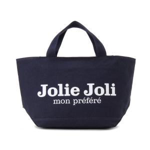 Jolie Joli ジョリージョリ トートバッグ JJ-2018996-020 キャンバスバッグ PM [M] レディース ネイビー|s-select