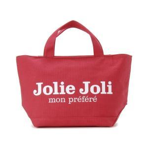 Jolie Joli ジョリージョリ トートバッグ JJ-2018996-325 キャンバスバッグ PM [M] レディース レッド|s-select
