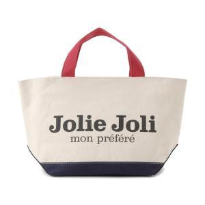Jolie Joli ジョリージョリ トートバッグ JJ-2018996-TRICO キャンバスバッグ PM [M] レディース トリコロール|s-select