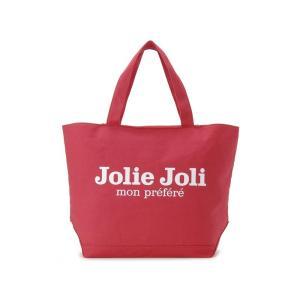 Jolie Joli ジョリージョリ トートバッグ JJ-2018997-325 キャンバスバッグ TPM [L] レディース レッド|s-select
