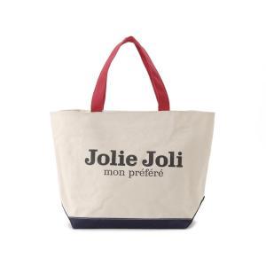 Jolie Joli ジョリージョリ トートバッグ JJ-2018997-TRICO キャンバスバッグ TPM [L] レディース トリコロール|s-select