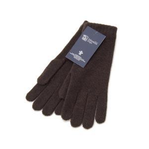 ジョンストンズ Johnstons 手袋 HAD3226 SB7095 カシミア 100% グローブ ダーク チョコレート メンズ レディース 新品|s-select
