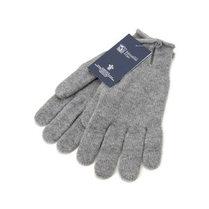 ジョンストンズ 手袋 Johnstons HAY2241 HA0200 カシミア100% グローブ ライトグレー メンズ レディース 新品|s-select