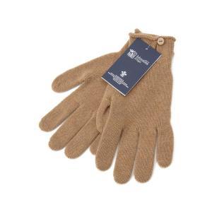 ジョンストンズ Johnstons 手袋 HAY2241 HB4028 カシミア 100% グローブ キャメル レディース 新品|s-select