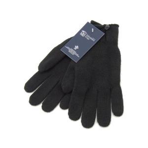 ジョンストンズ 手袋 Johnstons HAY2241 SA0900 カシミア100% グローブ ブラック レディース 新品|s-select