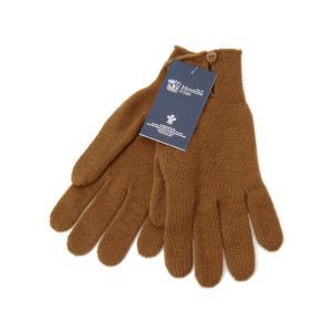 ジョンストンズ Johnstons 手袋 HAY2241 SB4240 カシミア 100% グローブ ダーク キャメル レディース 新品|s-select
