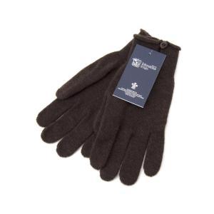 ジョンストンズ Johnstons 手袋 HAY2241 SB7095 カシミア 100% グローブ ダーク チョコレート レディース 新品|s-select