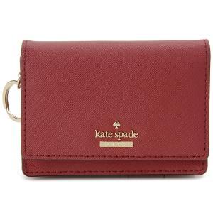ケイトスペード パスケース 定期入れ カードケース 小銭入れ Kate Spade PWRU5096 638 レッド|s-select