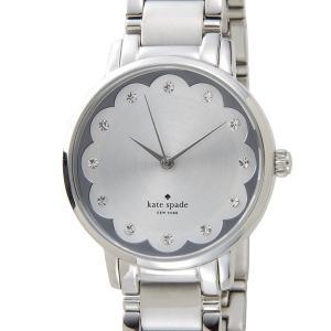 ケイトスペード kate spade レディース 腕時計 KSW1046 グラマシー スカラップ シルバー|s-select