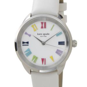 ケイトスペード kate spade レディース 腕時計 KSW1092 クロスタウン ホワイト(マルチ) s-select