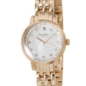 ケイトスペード kate spade レディース 腕時計 KSW1243 モントレー ミニ ホワイトシェル×ローズゴールド 新品|s-select